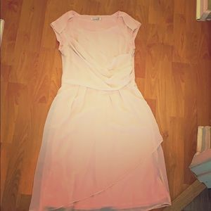MikaRose light pink dress. Perfect for weddings!